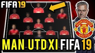 FIFA 19 | Manchester United Potential Squad w/Ratings 2018/2019 | FT Fred, Alderweireld, Pogba