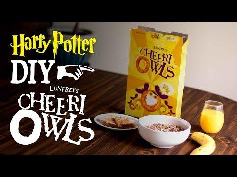 Cheeri Owls - Harry Potter DIY