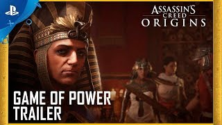 Assassin's Creed Origins - Gamescom 2017 Game of Power Trailer | PS4