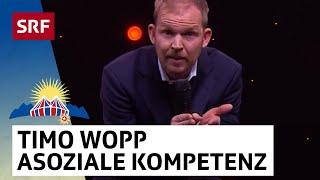Timo Wopp beim Arosa Humorfestival 2018
