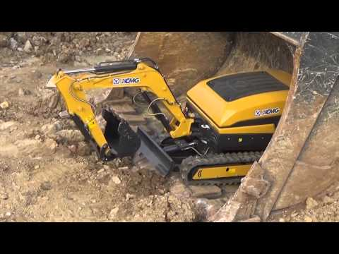 Excavator Duo from XCMG