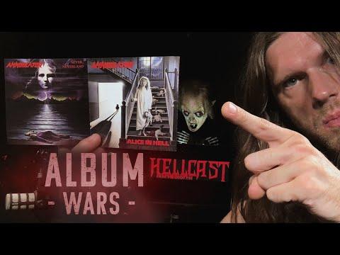 ALBUM WARS: ANNIHILATOR Never Neverland vs Alice in Hell