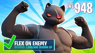 New SHADOW MEOWSCLES Challenges! (Fortnite Battle Royale)