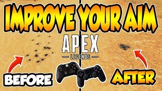 Download APEX LEGENDS | HOW TO iMPROVE AiM AND CONTROL RECOiL iN 2 STEPS!!! (PS4 AND XBOX) Mp3 and Videos
