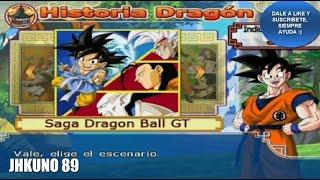 DRAGON BALL BUDOKAI TENKAICHI 3 / MODO HISTORIA EN ESPAÑOL LATINO SAGA GT PARTE 1