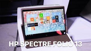 Trên tay HP Spectre Folio 13 - laptop vỏ da đa chế độ sử dụng, giá từ $1300