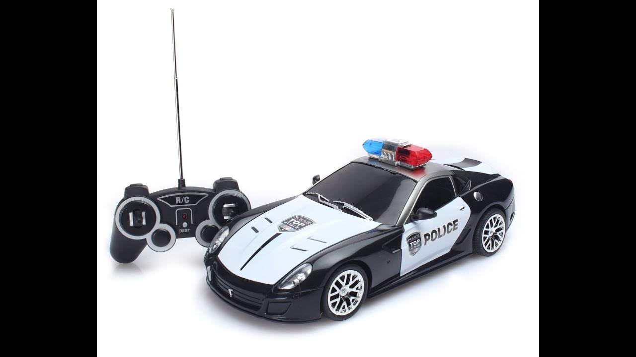 Rc Car Racing >> RC Police Car toys, Radio Control Police Vehicles Toys, Toys For Kids - YouTube