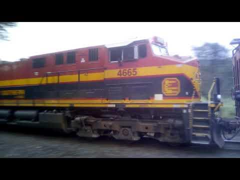 KCS # 4561 Directo Veracruz - Mexico Granolero -  Intermodal 07/01/2019