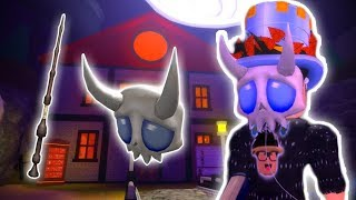 ROBLOX EVENT: HOW TO GET ELDER'S WAND AND SKELETAL MASQUE! (HALLOW'S EVE)
