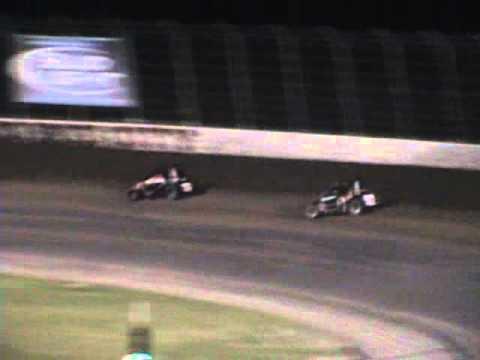 Kyle Larson - April 23, 2011 Main Event - USAC Midgets Dodge City Raceway Park