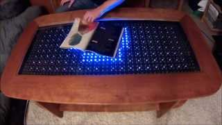 Reactive Led Coffee Table - Arduino 2