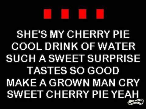 Warrant - Cherry Pie karaoke