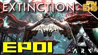 ARK EXTINCTION EP 1 - OFFICIAL PVP - 150 TAME ALREADY!!