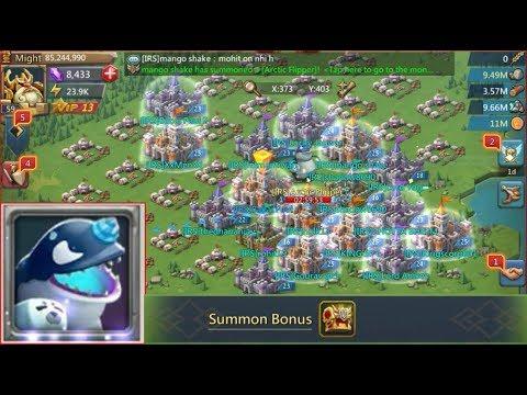 Guild Bash Monster [Arctic Flipper] Summoned & Hunt ! Also Rewards Opening !