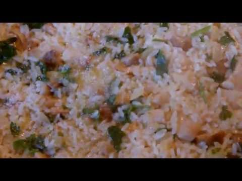 Рис с грибами калорийность на 100 грамм