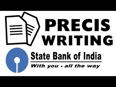 how to write a precis paper
