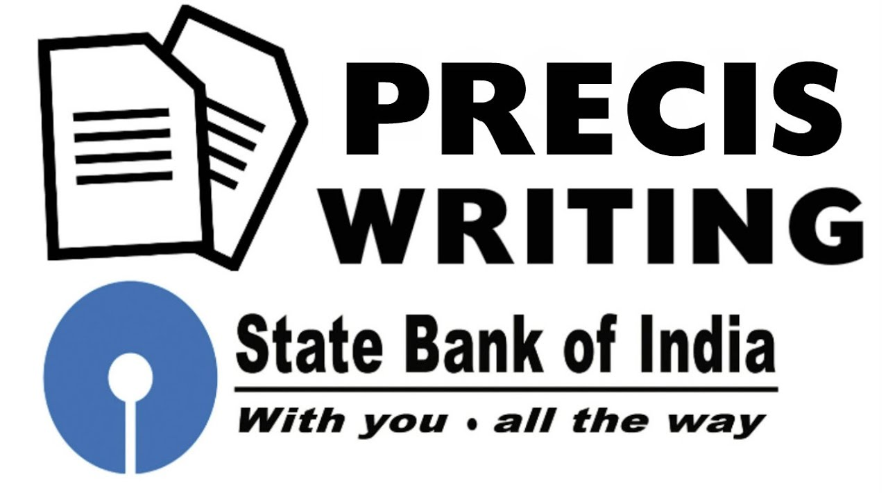 how to write precis writing for descriptive test