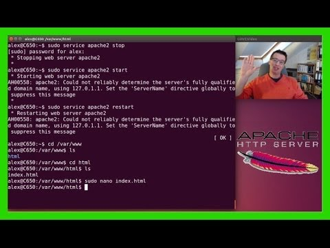 Apache Webserver in Ubuntu 16.04 17.10 installieren / Grundinstallation und Testen [Deutsch/German]