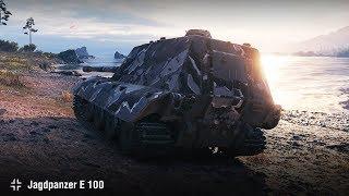 Jagdpanzer E 100 | 12k урона на Фьордах