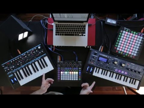 Novation // Finish Something Part 1: Introducing the Hardware Setup