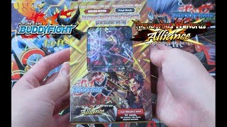 Thunder Warlords Alliance Buddyfight X Trial Deck Unboxing!