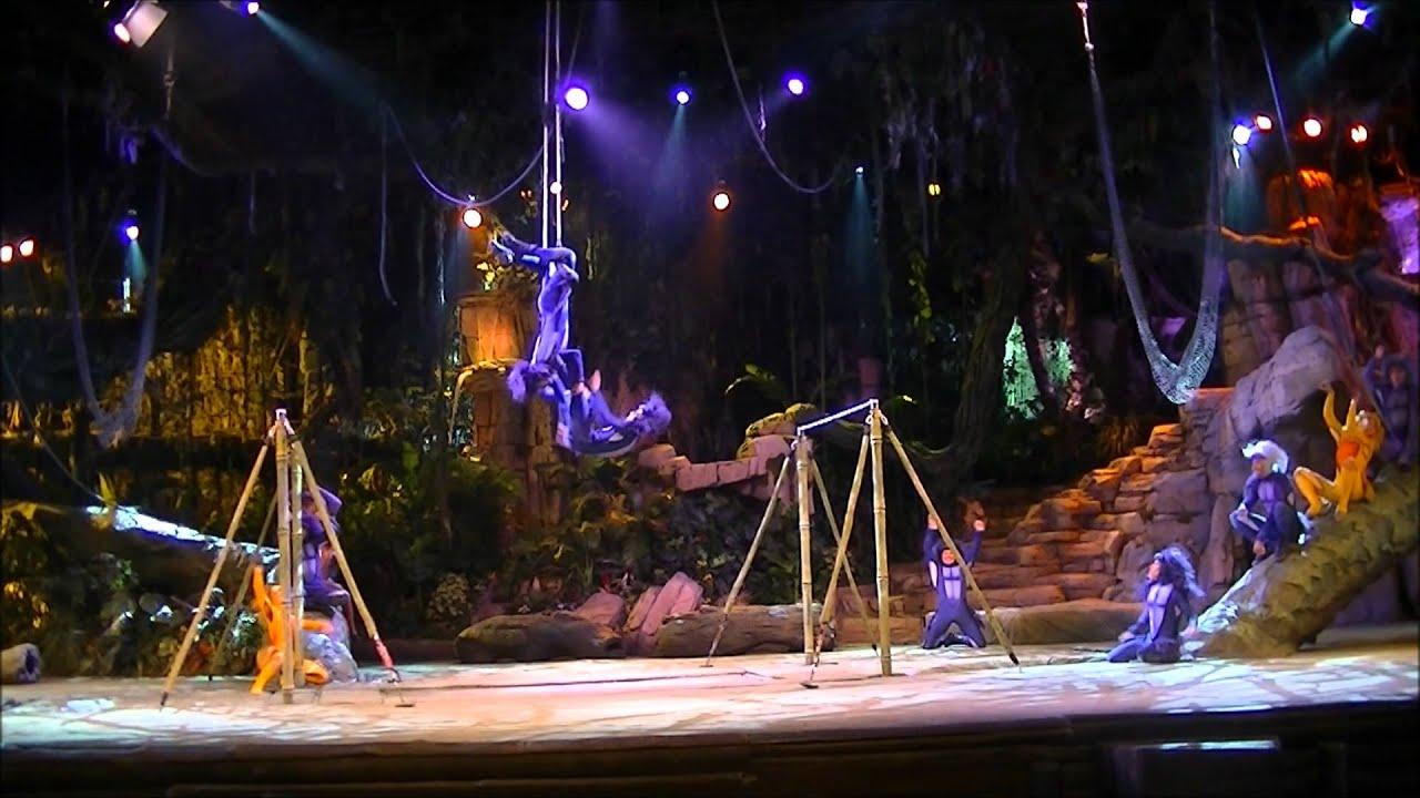 Disneyland paris the tarzan encounter full show 9 june for Show a paris