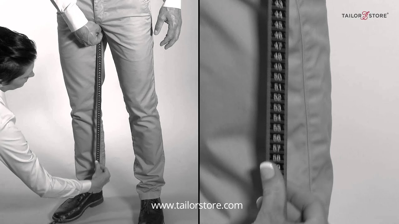 How To Measure The Inseam Measurement Guide Men S Body Measurements Youtube