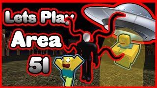 Faux Raids Area 51!? Lets play Roblox
