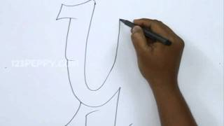 How to Draw Graffiti Letter Y