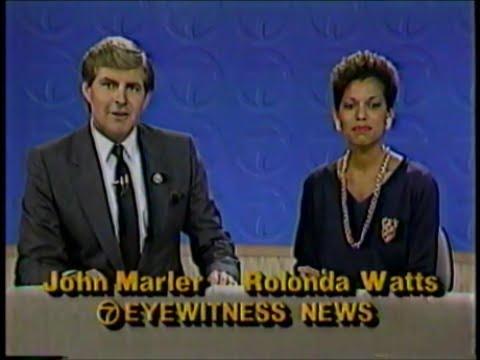 WABC-TV 7 New York -  7/6/86 11pm Eyewitness News - Liberty Weekend