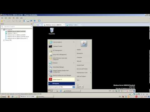 Telerik WSA Homework Lecture 13 - Virtualization with Hyper-V and Remote desktop services