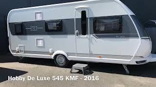Hobby De Luxe 545 KMF - 2016 TILBUD