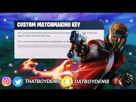 new custom matchmaking in fortnite