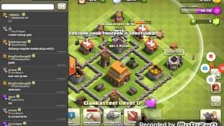 Clash of clans #4 ik ben rusher?!