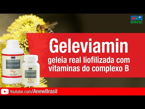 Geleviamin - Geleia Real Liofilizada e Complexo B