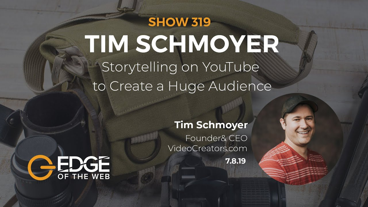 Storytelling on YouTube to Create a Huge Audience with Tim