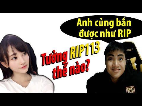 """Troll Girl Xinh PUBG l """"Mình bắn được như RIP113 nè"""""""