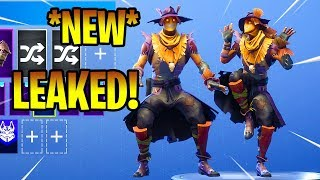 *NEW* LEAKED HAY MAN SKIN! Showcase Fortnite Battle Royale