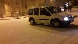 Yozgat 2018 Ilk Kar Ile Kazalar Kayan Arabalar Tedbirsizlikler