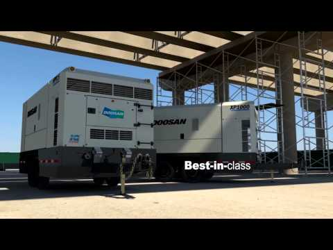 Large Air Compressors From Doosan Portable Power