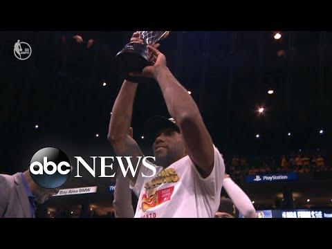 Raptors top Warriors for 1st NBA title