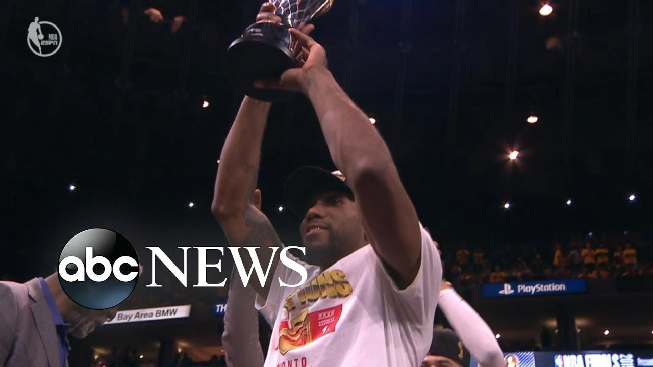 ABC News:Raptors top Warriors for 1st NBA title