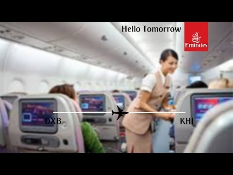 Flight Report | Emirates | Boeing 777-300ER | Dubai - Karachi | Economy Class
