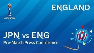 JPN v. ENG - England - Pre-Match Press Conference