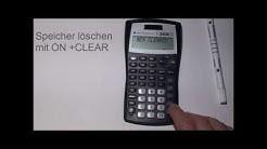 Texas Instruments TI 30 X II S Teil 1