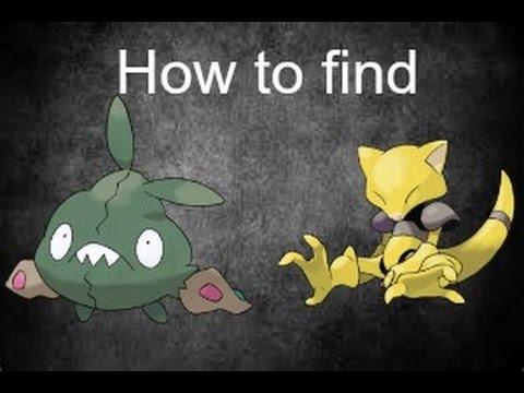 How to find Trubbish and Abra | Pokemon Brick Bronze