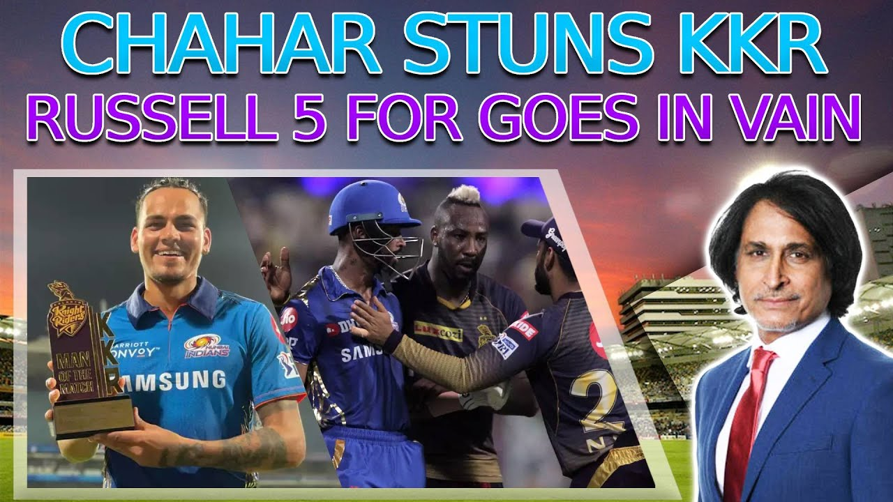 Chahar Stuns KKR | Russell 5 for goes in vain