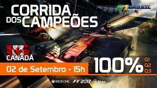F1 2017 Liga FBV - CORRIDA DOS CAMPEÕES 3 TEMPORADA