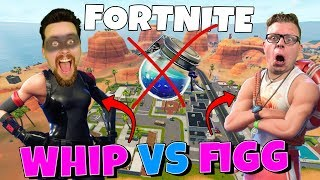 figgehn VS Whippit - INGEN SKÖLD CHALLENGE i Fortnite *Playground*