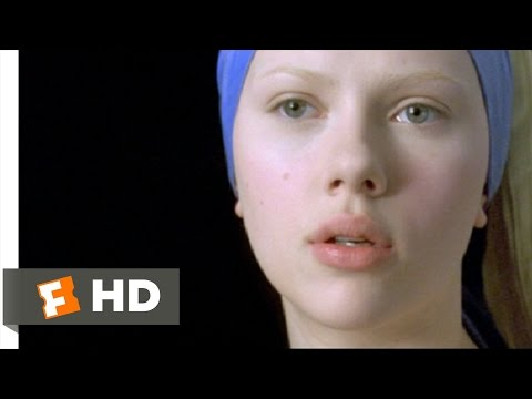 Girl with a Pearl Earring (9/12) Movie CLIP - Artistic Affection (2003) HD